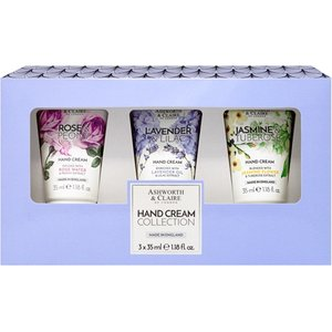 Ashworth & Claire Hand Cream Collection Gift Set 3 X 35ml Ac9500