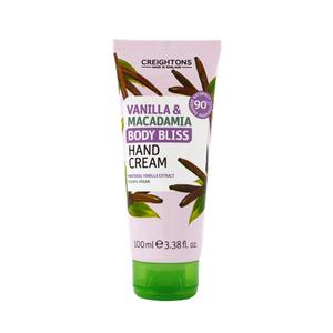 Body Bliss Vanilla & Macadamia Hand Cream 100ml Bd9511