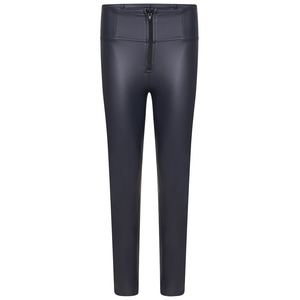 Freddy Faux Leather High-rise Wr.up® Trousers- Phantom - Xs