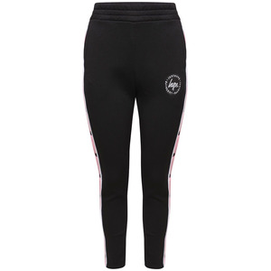 Hype Popper Joggers - Black/pink - 6