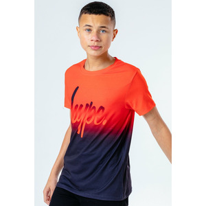 Hype Red Fade Kids T-shirt - 9/10y