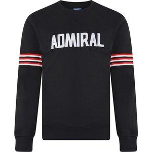 Admiral 1974 Black Club Sweatshirt Mens Sportswear