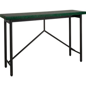 Habitat Arianne Black And Green Console Table, Green Terrazzo, Green Terrazzo