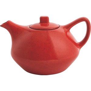 Habitat Castell Orange Teapot, Orange, Orange