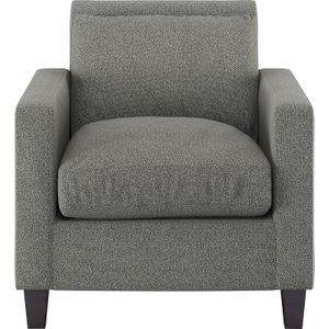 Habitat Chester Black & White Fabric Armchair, Black & White, Black & White