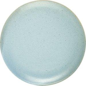 Habitat Cinnamon Blue Speckled Dinner Plate D27cm, Blue, Blue
