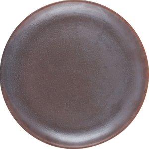 Habitat Cinnamon Brown Dinner Plate D27cm, Brown, Brown