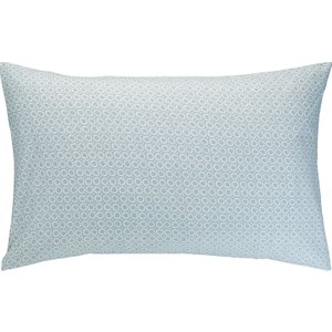 Habitat Ditsy Blue And Green Reversible Rectangular Pair Of Pillowcases, Blue And Green, Blue And Green