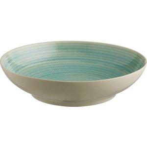 Habitat Dunas Blue Pasta Bowl D23cm, Aqua Blue, Aqua Blue
