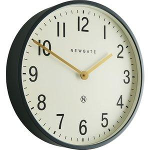 Habitat Edwards Dark Grey Metal Wall Clock, Grey, Grey
