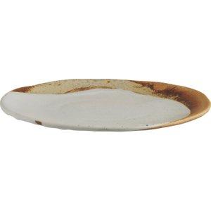 Habitat Elzora Chalk White Side Plate 21cm, Chalk White, Chalk White