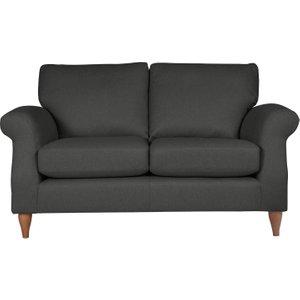 Habitat Bude 2 Seater Fabric Sofa - Charcoal