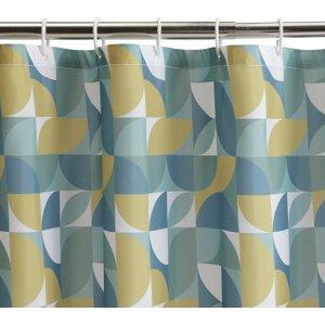 Habitat Geo Ab Shower Curtain - Multicoloured