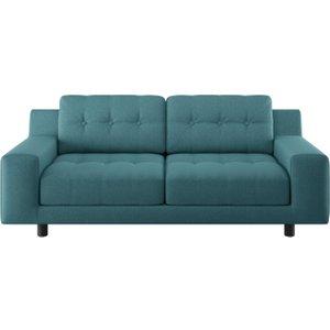 Habitat Hendricks 2 Seater Fabric Sofa - Teal