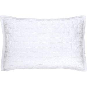 Habitat Pin-tucked Rectangular Pair Of Pillowcases White Mina, White