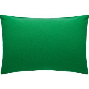 Habitat Rectangular Pair Of Pillowcases Stonewashed Green Washed Green, Stonewashed Green