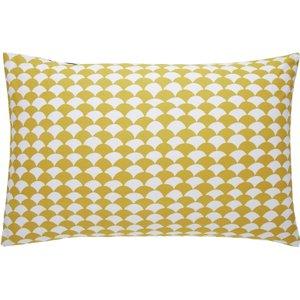 Habitat Scallop Reversible Bedding Set - Kingsize, Yellow, Yellow