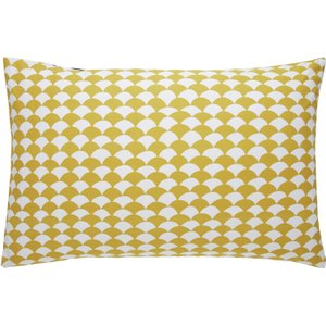 Habitat Scallop Reversible Bedding Set - Superking, Yellow, Yellow