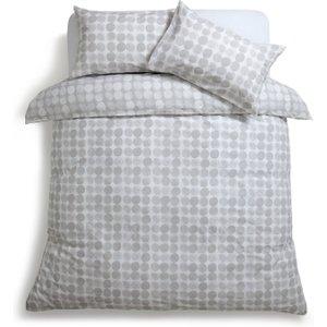 Habitat Spot Print Grey Bedding Set - Kingsize, Grey, Grey