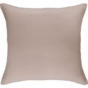 Habitat Square Pair Of Pillowcases Pink Linen Pink, Pink