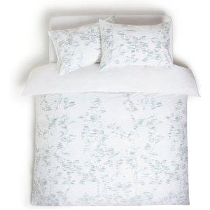 Habitat Textured Look Reversible Bedding Set - Single, White, White