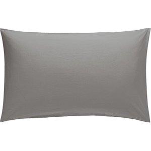 Habitat Washed Grey Stonewashed Bedding Set - Double, Grey, Grey