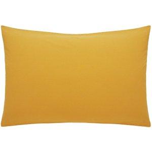 Habitat Washed Mustard Stonewashed Bedding Set - Double, Yellow, Yellow