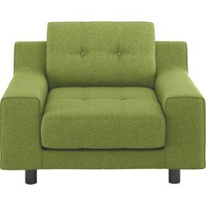 Habitat Hendricks Green Amatheon Wool Armchair, Green, Green