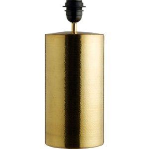 Habitat Margo Brass Metal Table Lamp Base, Gold