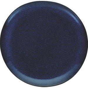 Habitat Olmo Dark Blue Speckled Dinner Plate 28cm, Dark Blue, Dark Blue
