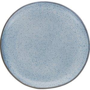 Habitat Olmo Light Blue Speckled Dinner Plate 28cm, Light Blue, Light Blue