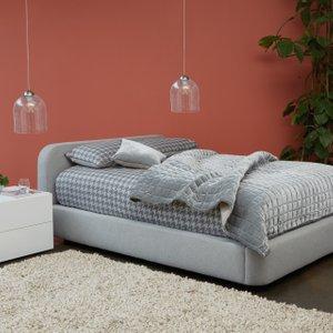 Habitat Ottori Grey Wool Super King Bed And Eton Mattress, Grey, Grey