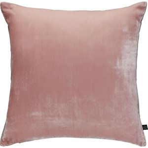 Habitat Regency Pink Velvet Cushion 45 X 45cm, Pink, Pink