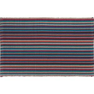 Habitat Shadi Bright Stripe Bathmat, Multi-coloured, Multi-Coloured