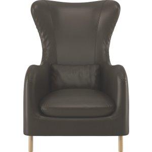 Remarkable Habitat Smithfield Tan Luxury Leather Armchair Tan Tan Machost Co Dining Chair Design Ideas Machostcouk