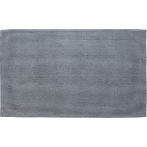 Habitat Spa Cotton Grey Ash Grey Cotton Bath Mat 50 X 80cm, Grey, Grey