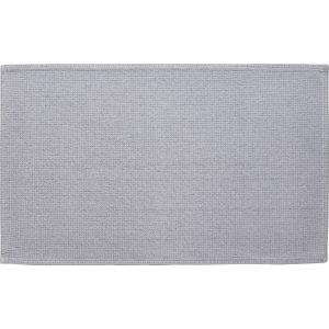 Habitat Spa Cotton Lightgrey Light Grey Cotton Bath Mat 50 X 80cm, Grey, Grey