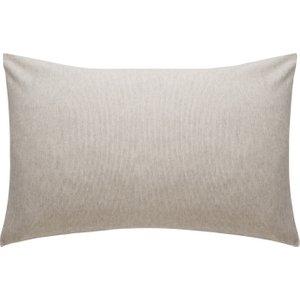 Habitat Stripe Flannel Striped Flannel Rectangular Pair Of Pillowcases, Neutral, Neutral