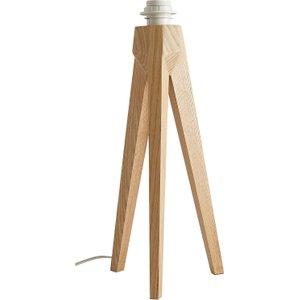 Habitat Tripod Base Ash Wooden Tripod Table Lamp, Ash