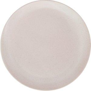 Habitat Violet Matt Lilac-grey Stoneware Dinner Plate D27cm, Grey, Grey