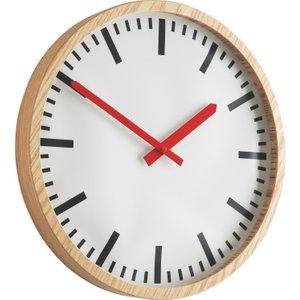 Habitat Zillmere Wooden Wall Clock, Natural, Natural