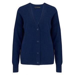 360 Sweater Kristen Cashmere Cardigan - Navy