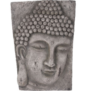 Gardening Naturally Buddha Wall Art - Stone Finish