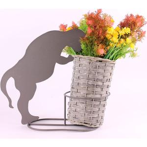 Gardening Naturally Cat Silhouette Planter