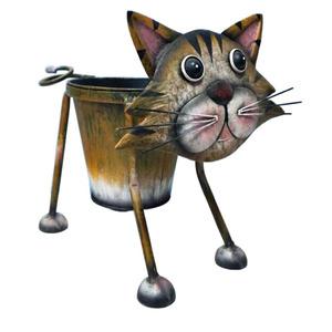 Gardening Naturally Nodding Cat Planter