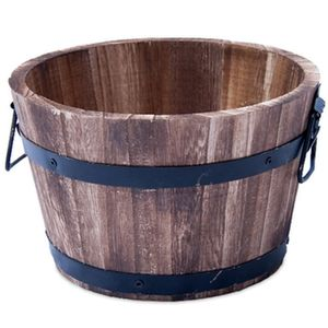 Gardening Naturally Wooden Garden Planter For Plants Or Water Features