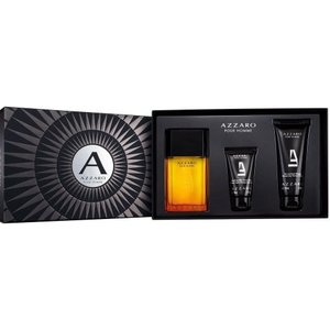 Azzaro Pour Homme - Gift Set With 100ml Edt Spray, 100ml Shower Gel And Balm