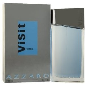 Azzaro Visit For Men - 75ml Aftershave Lotion, Damaged Box.