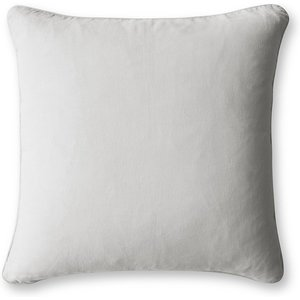 The Linen Works Dove Grey Linen Cushion Cover Tou/scattercushion