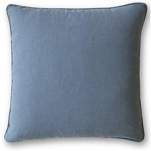 The Linen Works Parisian Blue Linen Cushion Cover Cushion/parblue/45x45